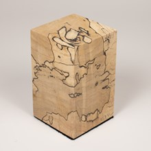 Spalted Cherry Square Base 1049