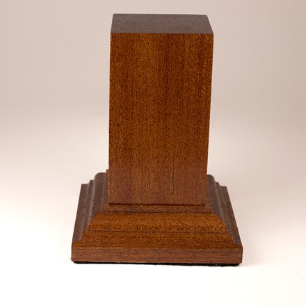 Narrow Plinth - Sapele 1013