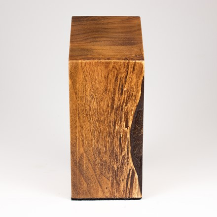 Square Bust Plinth in Cherry 1009